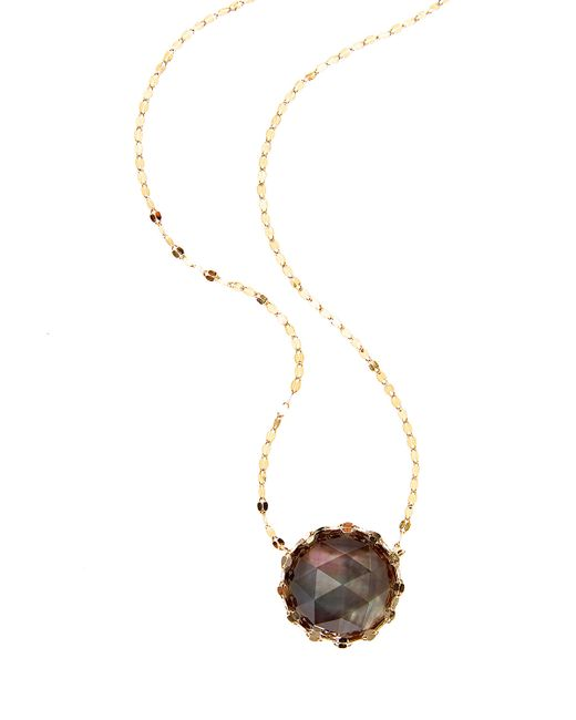 Lana Jewelry | Pink Mystiq Rose-Cut Mother-Of-Pearl Pendant Necklace | Lyst
