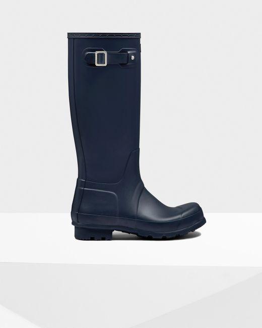 Hunter | Blue Men's Original Tall Rain Boots for Men | Lyst
