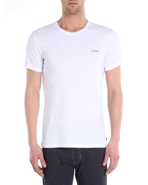 DIESEL | White Umtee-randal for Men | Lyst