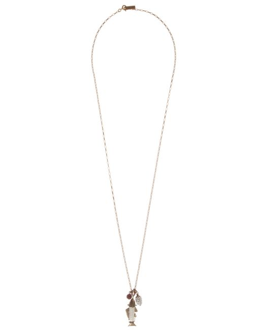 Étoile Isabel Marant | White Teen Spirit Fish Necklace | Lyst