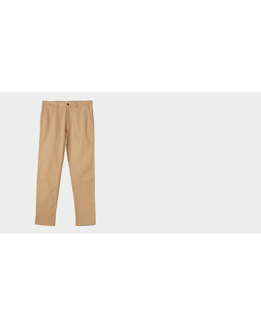 Ledbury | Natural The Sand Richmond Canvas Pant for Men | Lyst