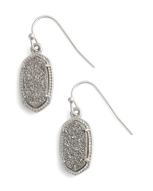 Kendra Scott | Metallic 'lee' Small Drop Earrings | Lyst