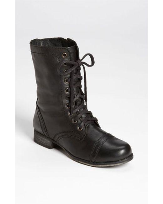 Steve Madden | Black 'troopa' Boot | Lyst