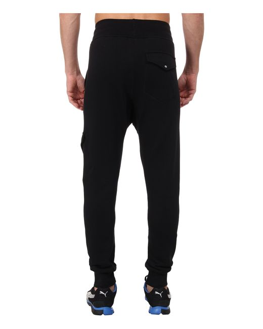 Puma Cargo Sweat Pants In Black For Men - Save 10%