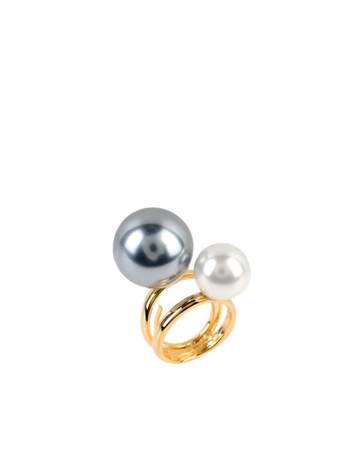Kenneth Jay Lane | Metallic Ring | Lyst