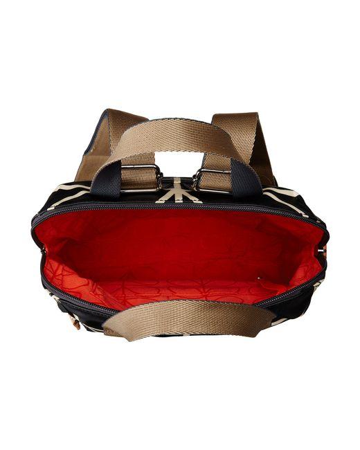 Orla Kiely   Black Backpack Tote   Lyst