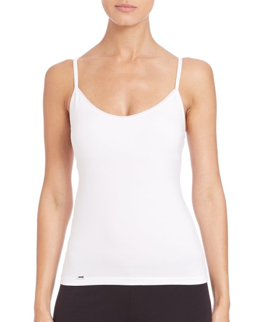 La Perla | White New Project Tank | Lyst