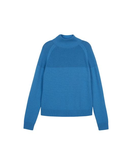 Baukjen | Blue Livia Roll Neck Jumper | Lyst