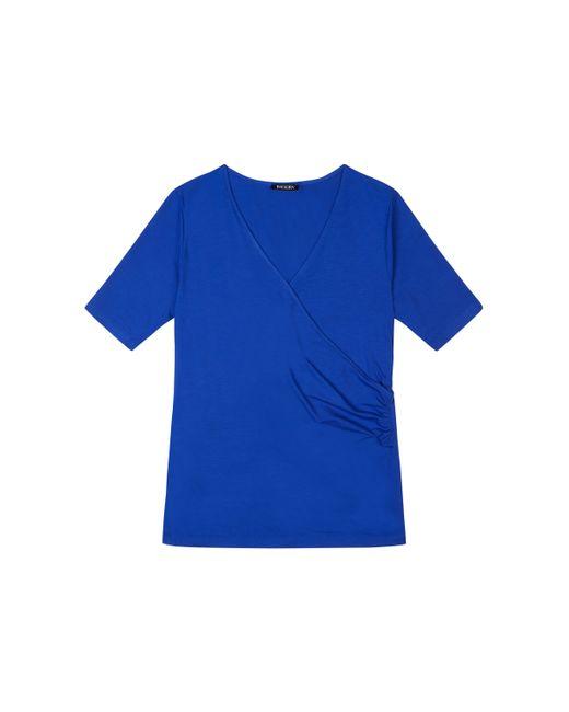 Baukjen | Blue Hannah Wrap Tee | Lyst