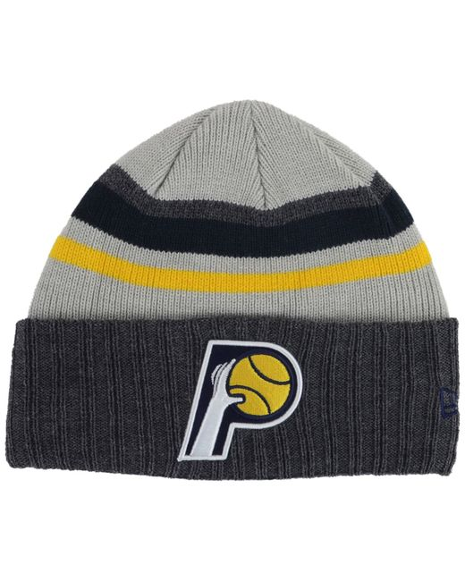 Nuggets Yellow Warm Up Jacket: Ktz Indiana Pacers Prep Class Knit Hat In Gray For Men