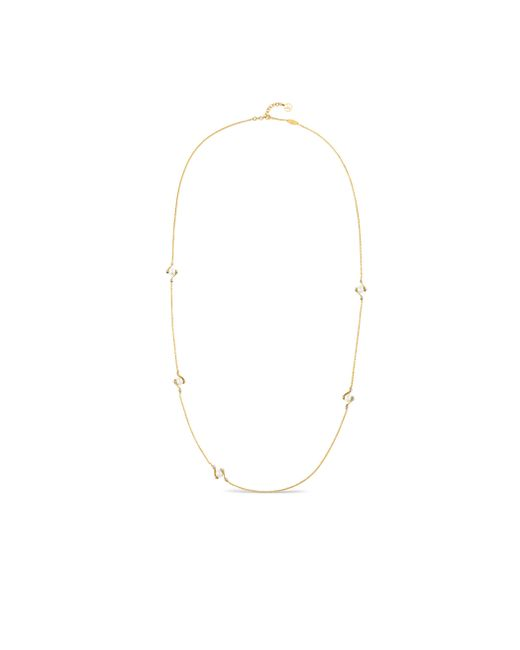 Louis Vuitton | Metallic Lv Speedy Pearls Long Necklace | Lyst