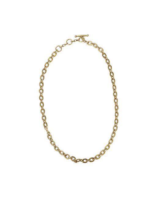 Vaubel   Metallic Tiny Circle Chain Necklace   Lyst