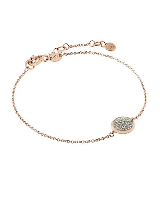 Links of London | Metallic Diamond Essentials Pave Round Bracelet | Lyst