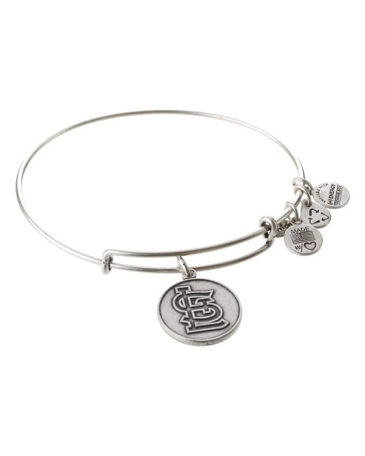 ALEX AND ANI | Metallic Mlb® St. Louis Cardinals™ Charm Bangle | Lyst