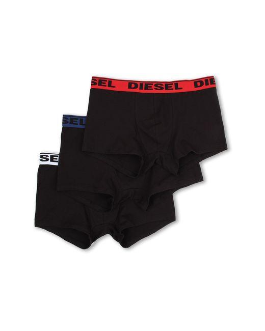 DIESEL | Black Shawn Boxer Brief Waaf 3-pack for Men | Lyst