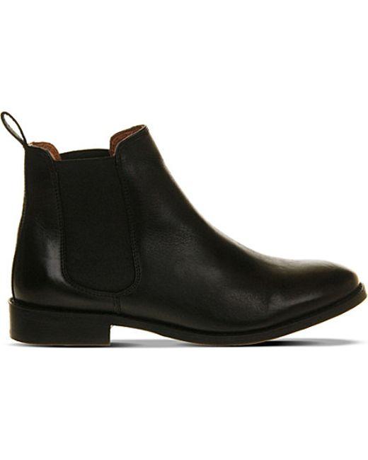 Luxury Paul Smith Women39s Black Calf Leather 39bertram39 Chelsea