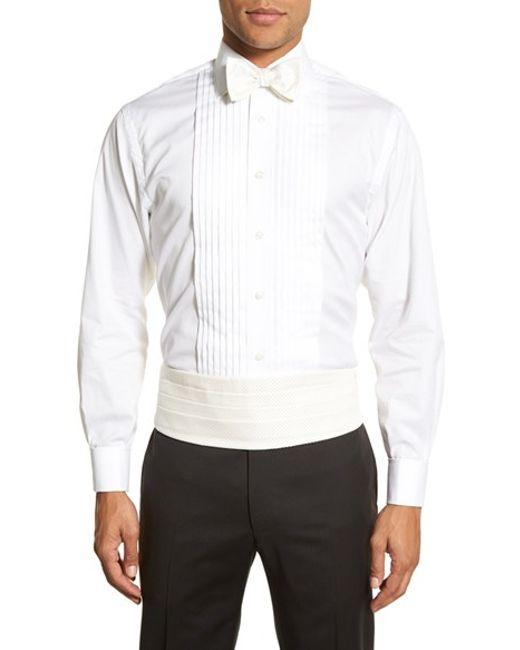Robert talbott 39 protocol 39 silk cummerbund bow tie set in for Robert talbott shirts sale