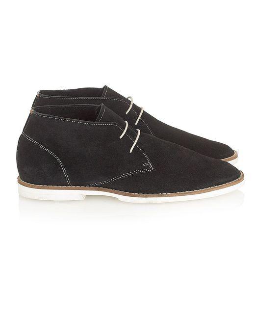 Frank Wright | Black Bridges Almond-toe Boots for Men | Lyst