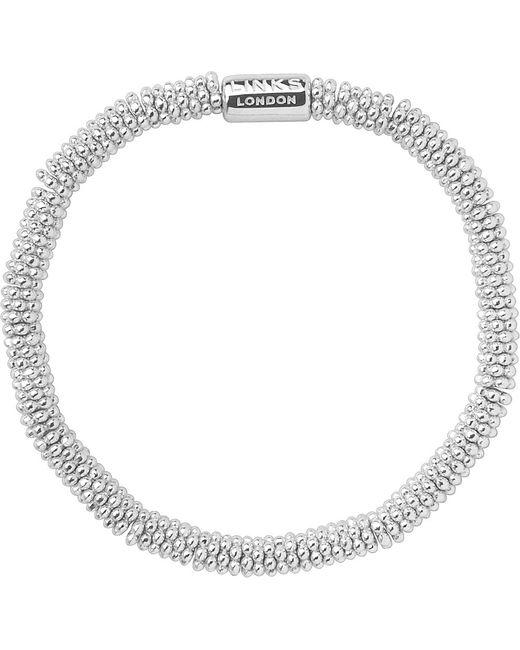 Links of London | Metallic Effervescence Extra-small Sterling Silver Bracelet | Lyst