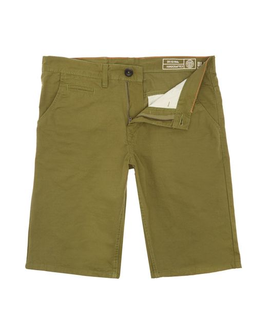 Blend | Green Canvas Shorts for Men | Lyst