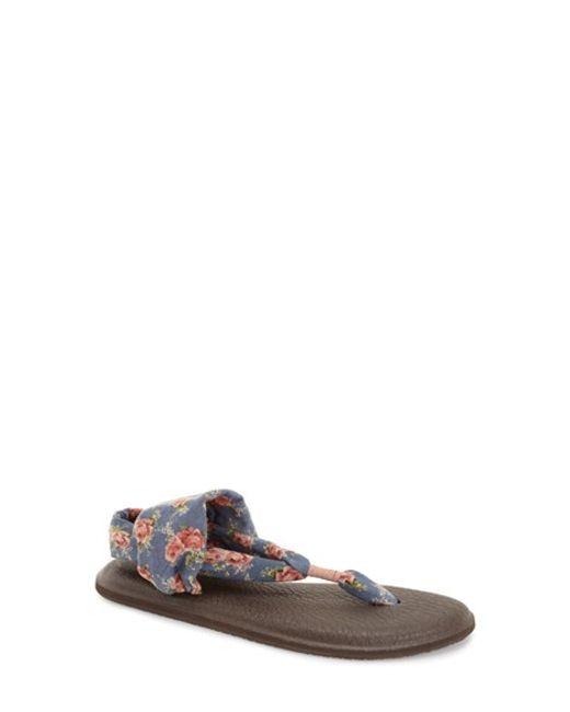 Sanuk | White 'yoga Sling 2' Sandal | Lyst