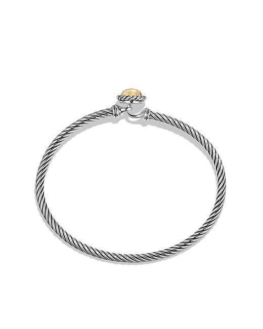 David Yurman | Metallic Chatelaine Bracelet With 18k Gold | Lyst
