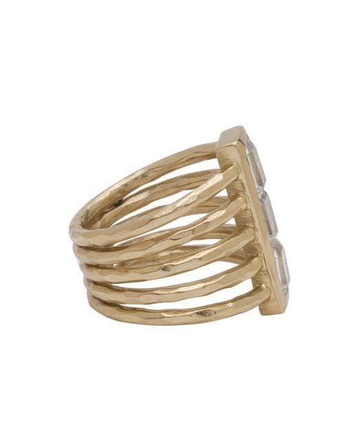 Melinda Maria | Metallic Wilder Ring | Lyst