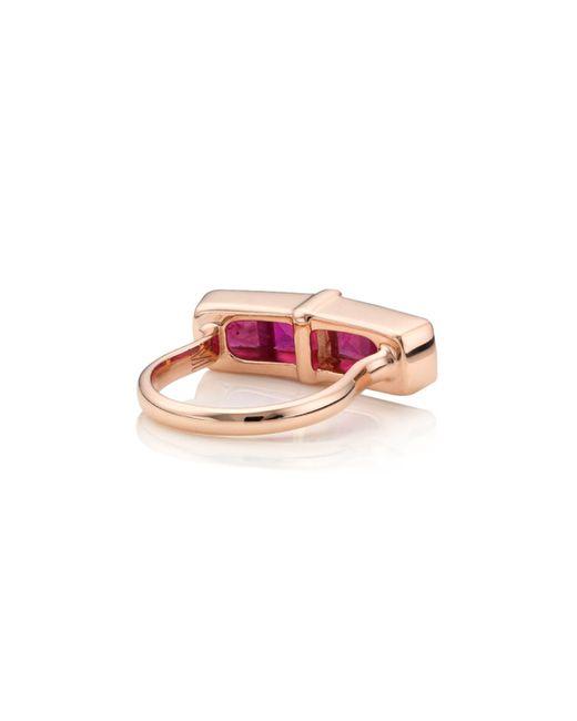 Monica Vinader   Pink Baja Precious Ring   Lyst