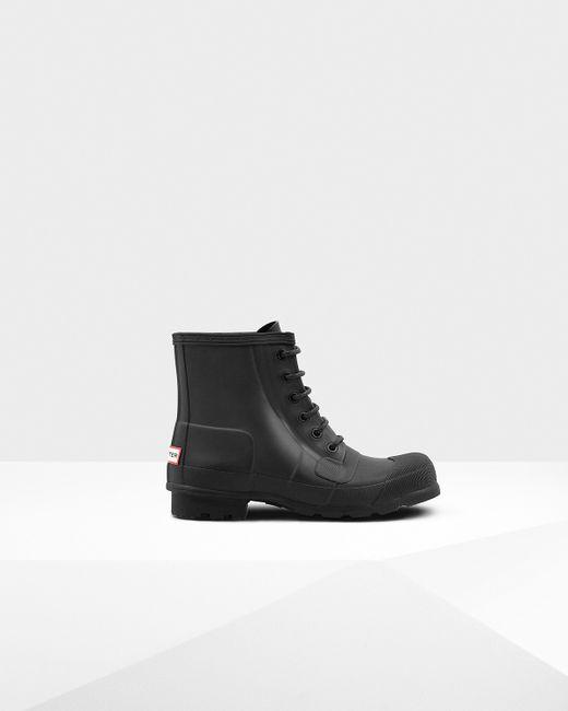 Hunter | Black Men's Original Pulltab Lightweight Chelsea Boots for Men | Lyst