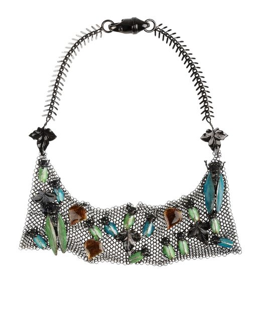 Vernissage Jewellery | Black Necklace | Lyst