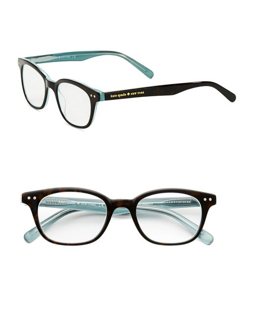 Kate Spade | Black 49mm Rebecca Reading Glasses | Lyst