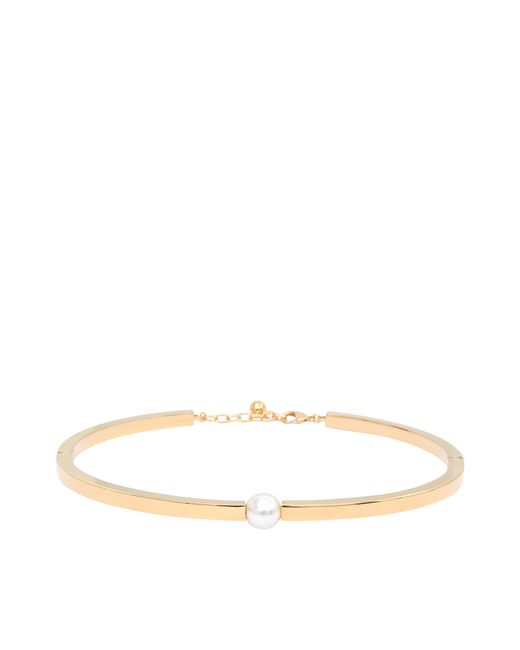 Chloé | Metallic Darcey Pearl Torque Necklace | Lyst