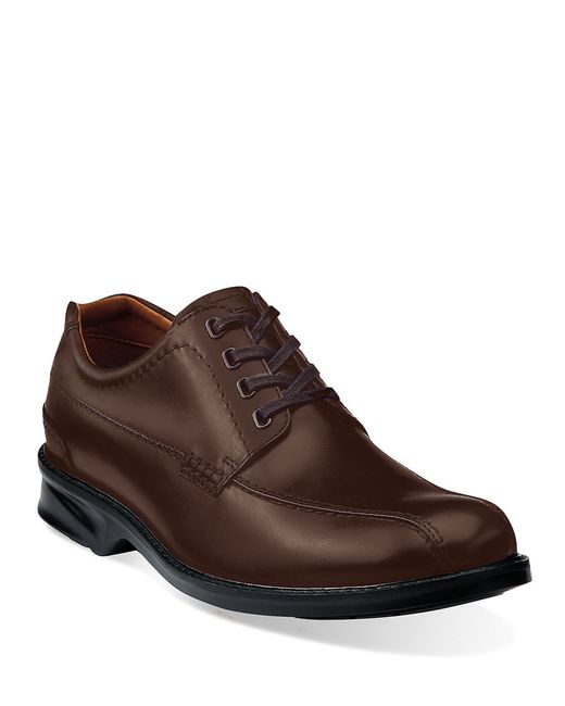 Clarks | Brown Colson Leather Oxfords for Men | Lyst