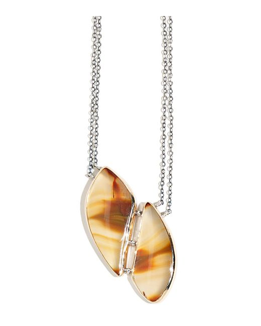 Melissa Joy Manning   Metallic Condor Agate Necklace   Lyst