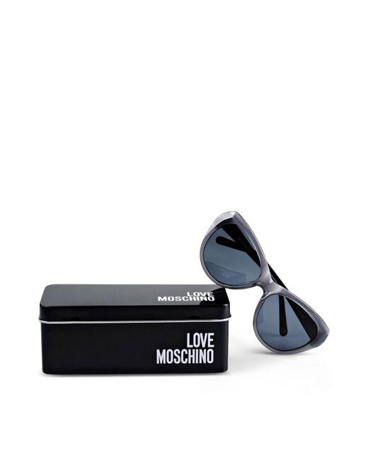 Love Moschino | Gray Sunglasses | Lyst