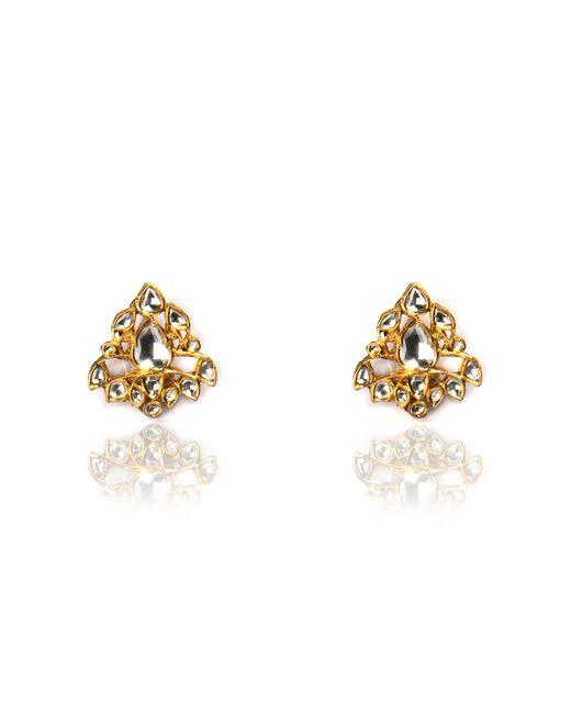 Sanjay Kasliwal | Blue Diamond Chandelier Earrings | Lyst