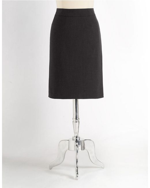 Calvin Klein | Black Pencil Skirt | Lyst