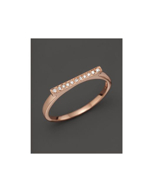 Dana Rebecca | Pink Diamond Sylvie Rose Ring In 14k Rose Gold | Lyst