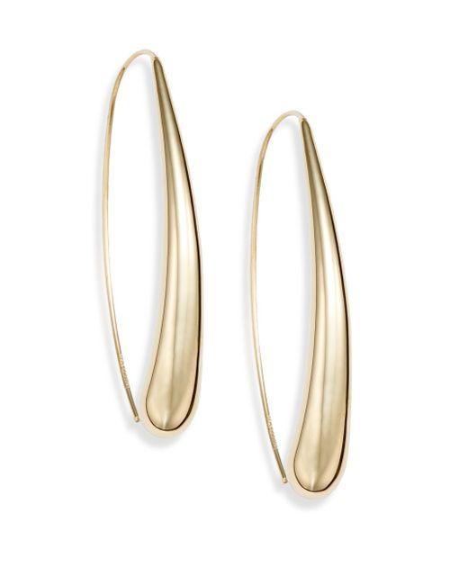 Saks Fifth Avenue | Metallic 14k Yellow Gold Arc Earrings | Lyst