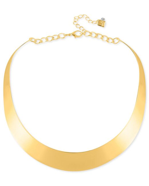 Robert Lee Morris | Metallic Necklace, Half-moon Collar Necklace | Lyst