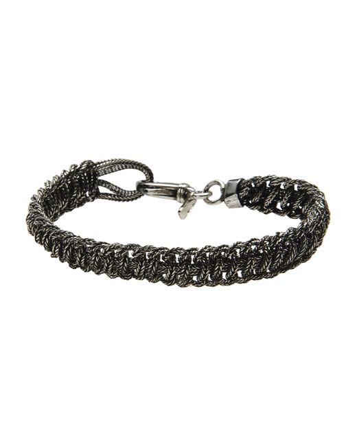 Emanuele Bicocchi | Metallic Bracelet for Men | Lyst