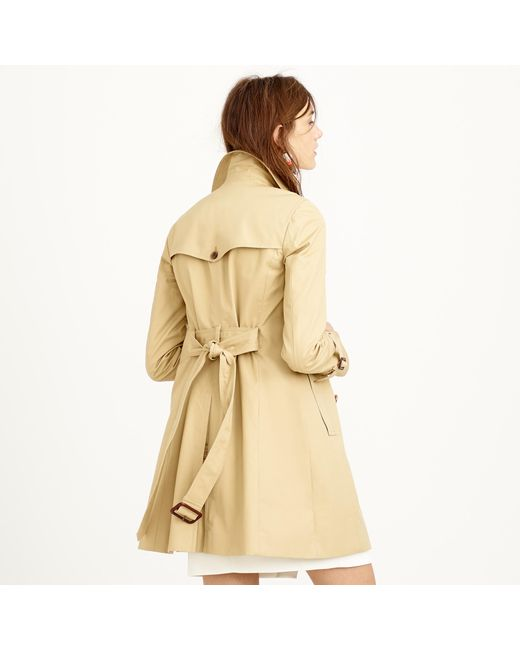 J.Crew | Natural Icon Trench Coat | Lyst