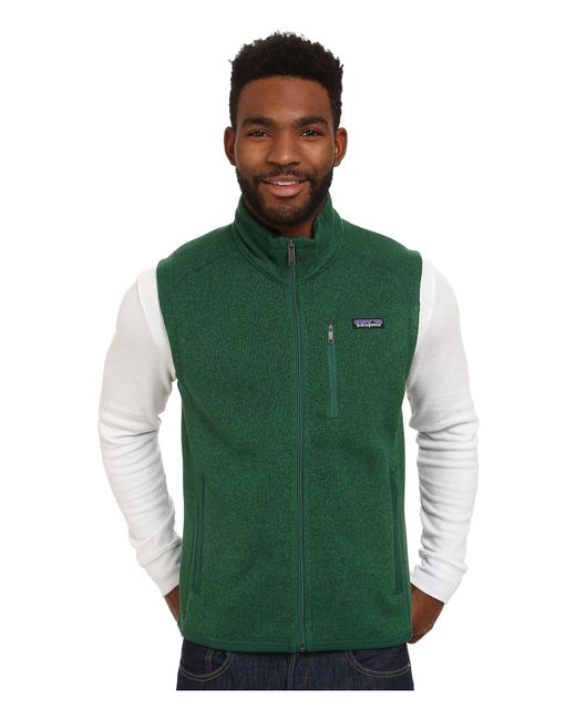 Patagonia | Green Better Sweater Vest for Men | Lyst