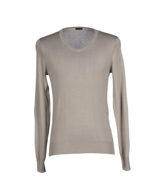 Paolo Pecora | Natural Sweater for Men | Lyst