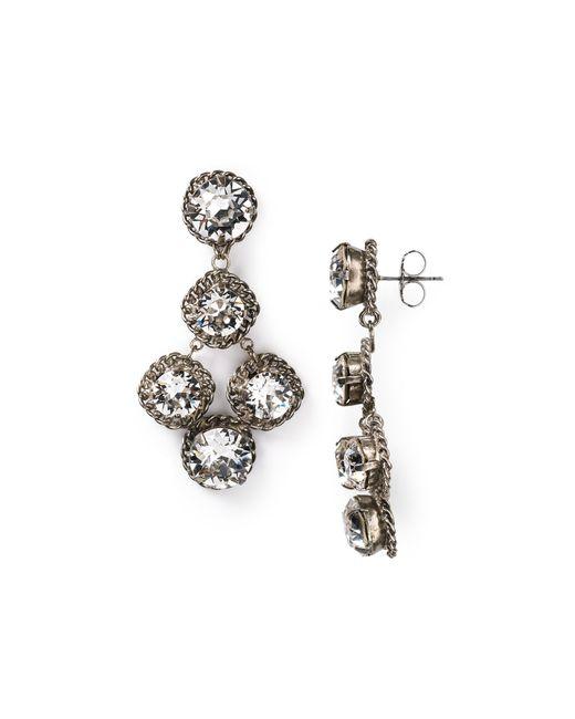 Sorrelli | Metallic Crystal Rock Earrings | Lyst