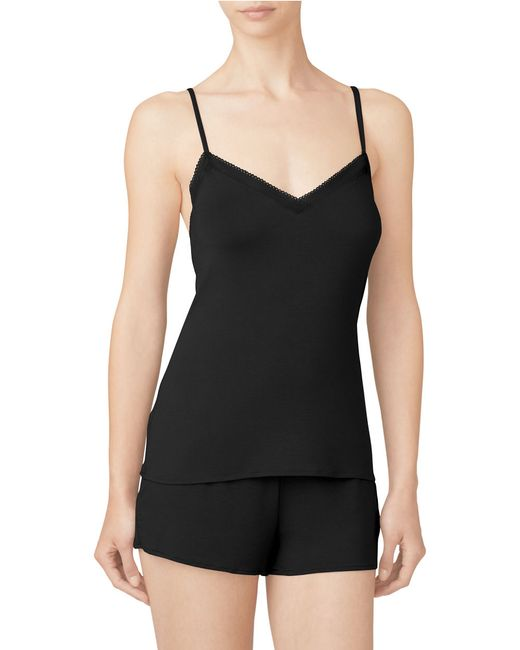 Calvin Klein | Black Icon Sleep Camisole | Lyst