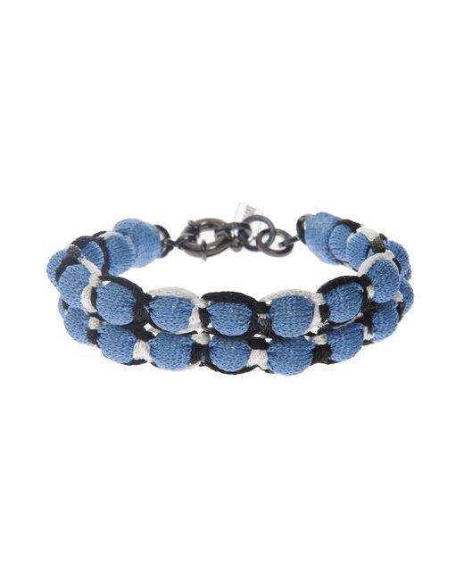 Missoni | Blue Roped Double Ball Bracelet | Lyst
