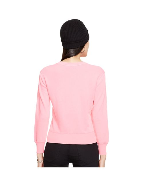 Pink Pony | Pink Pony Crewneck Sweatshirt | Lyst