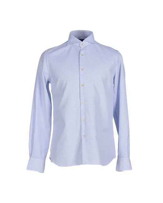 Xacus   Blue Shirt for Men   Lyst