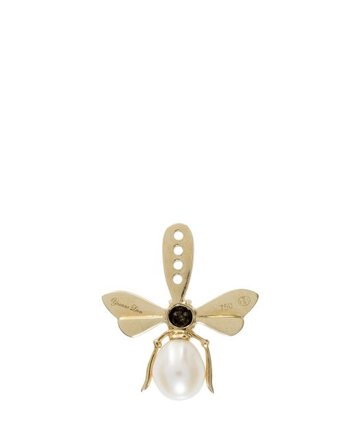 Yvonne Léon | Metallic Bee Earring | Lyst